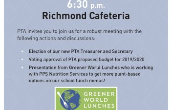 Richmond School PTA – Portland's Japanese-Immersion Elementary